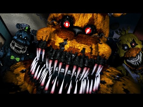 Thumbnail: GOLDEN FREDDY ATTACKS!! | Five Nights at Freddy's 4 - Part 4