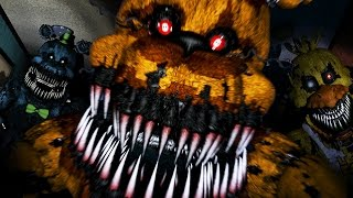 GOLDEN FREDDY ATTACKS!! | Five Nights at Freddy