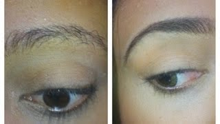 How to grow your eyebrows while keeping them tame.