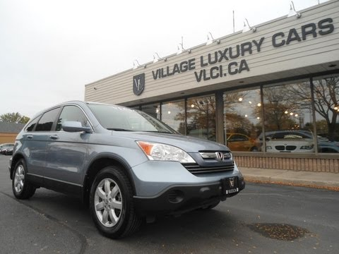 2009 Honda CR-V [EX-L AWD] in review - Village Luxury Cars Toronto