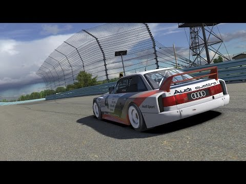 Live Reveal: The 1989 Audi 90 GTO on iRacing