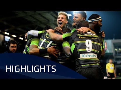 Northampton Saints v ASM Clermont Auvergne (P2) - Highlights – 13.01.2018