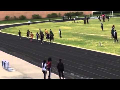 Suitland HS Track 5/17/14 800M Run Antony Collington