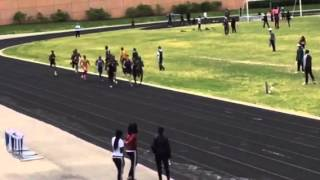 Suitland HS Track 5/17/14 800M Run Antony Collington