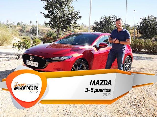 Mazda 3 - 5 puertas 2019 ⚠️ / Al volante / ↗️ SuperMotorOnline.com ↖️