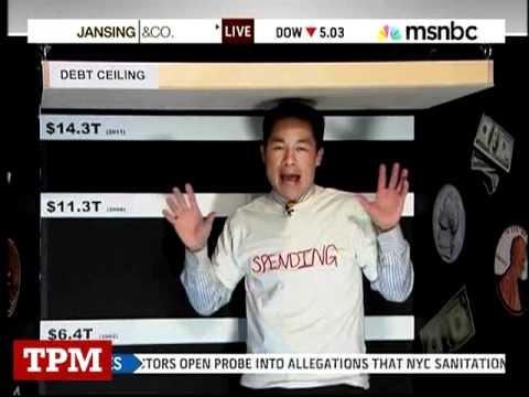 MSNBC's Richard Lui Acts Out The Debt Ceiling
