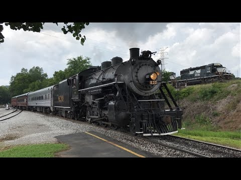Railfanning the Tennessee Valley Railroad