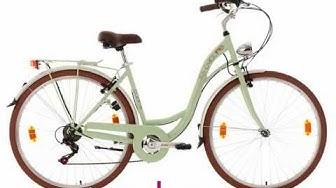 Vélo pour dame 28'' Eden menthe TC 48 cm KS Cycling - 731C