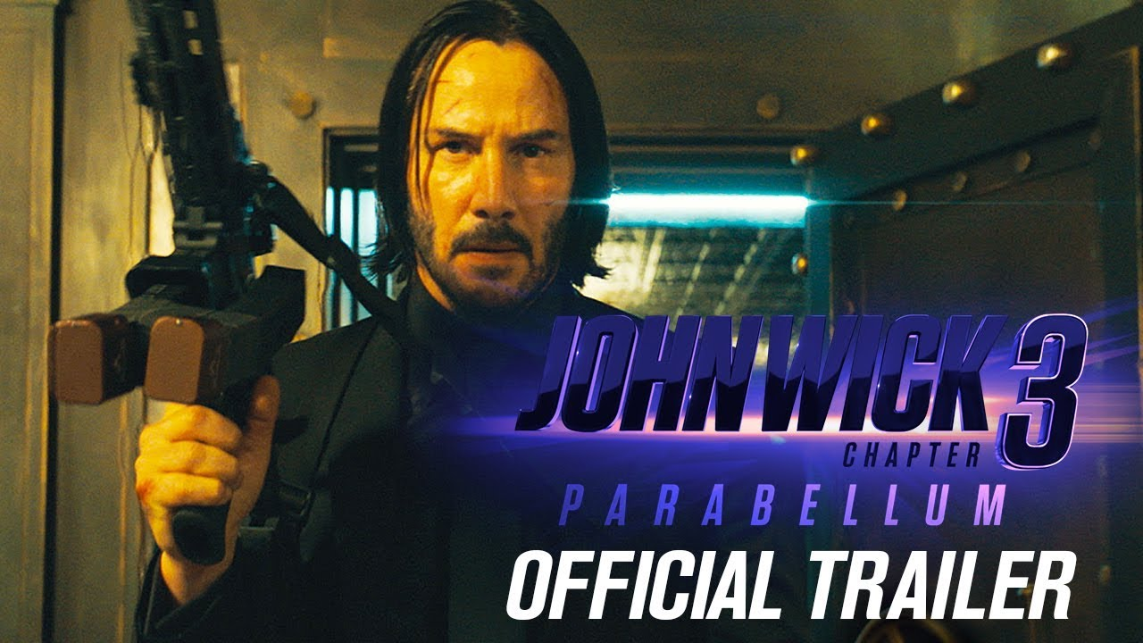 John Wick: Chapter 3 - Parabellum (2019 Movie) Official Trailer – Keanu Reeves, Halle Berry ...
