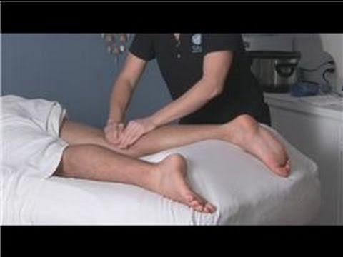 Hot Stone Massage : Leg Massage During A Hot Stone Massage