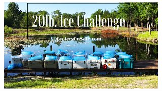 20lbs of Ice Regardless of Cooler Size, Yeti, Engel, Pelican, K2, Igloo, Orion, Black Rock, & More