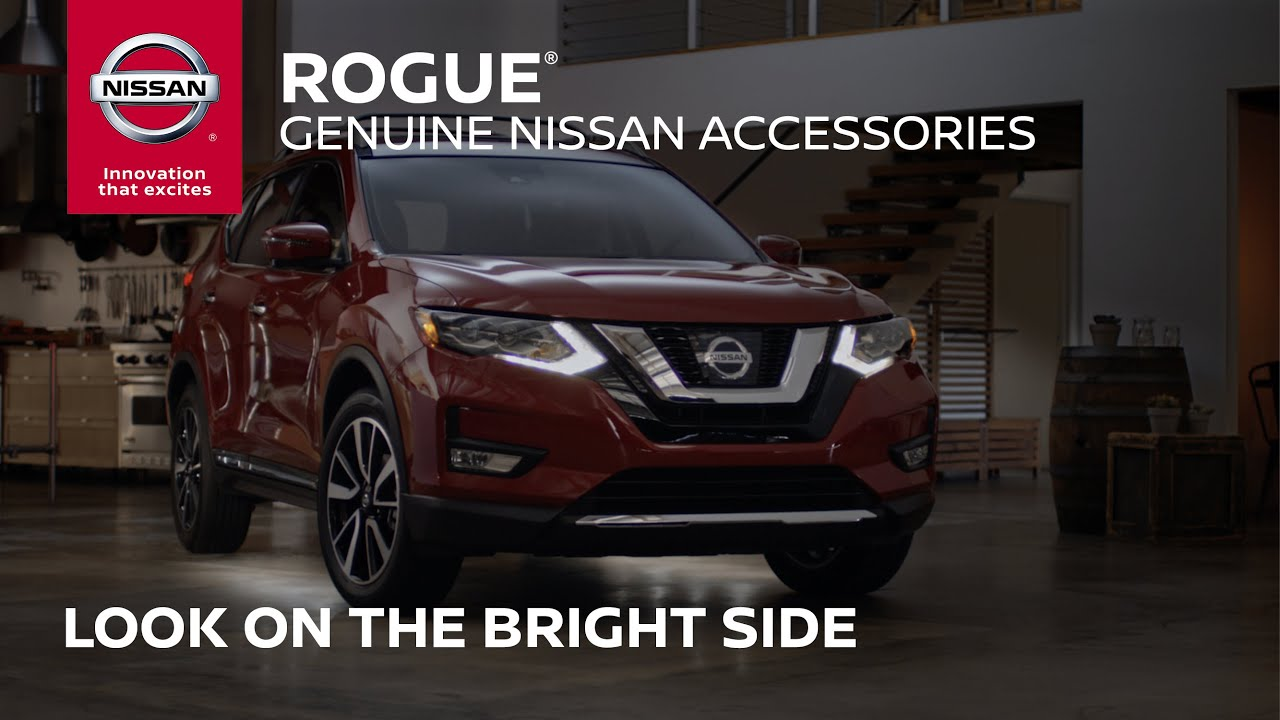 2017 Nissan Rogue Accessories | Time to Brighten Things Up ...