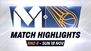Rd 6: Melb Utd vs. Brisbane Bullets - Full Highlights