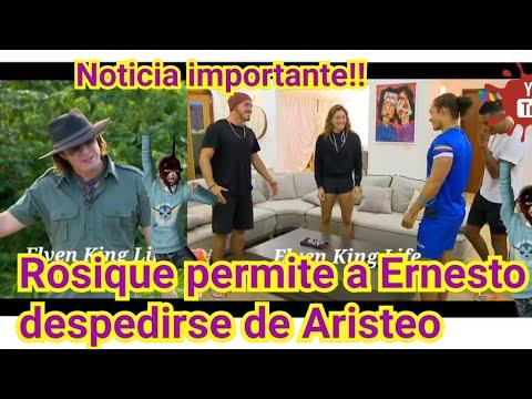 Rosique llora por Ernesto y lo deja Abrazar a su hermano | Exatlon México Eliminacion y despedida
