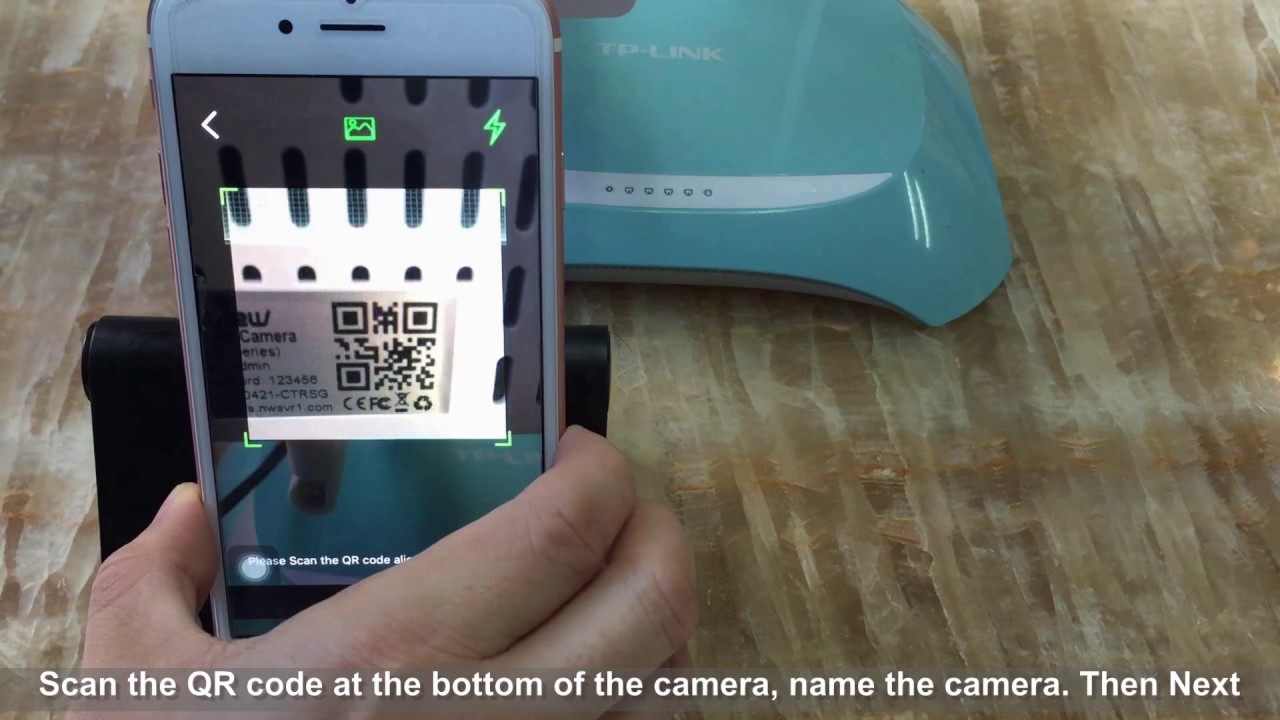Wansview Q2 WiFi Set Video