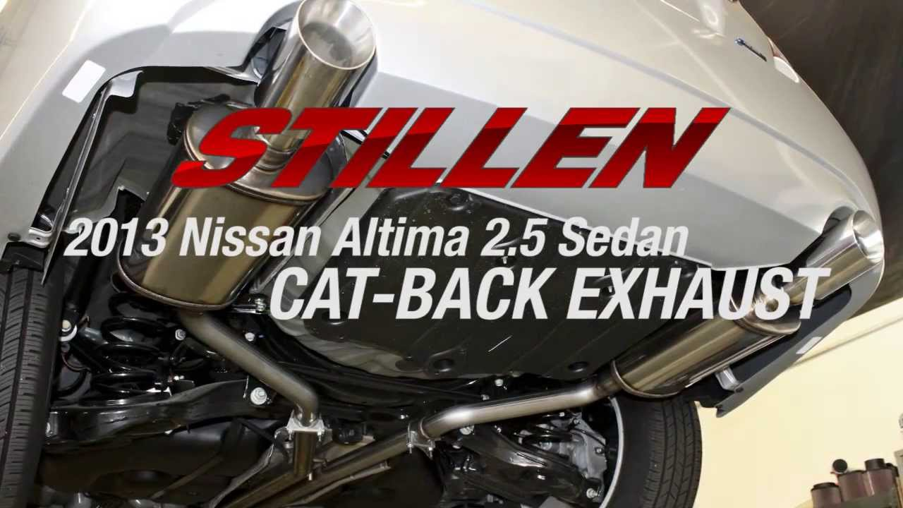Nissan Altima Performance Parts | Air Intakes, Exhausts & More