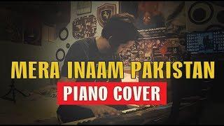 MERA INAAM PAKISTAN | PIANO COVER | Mansoor Qureshi MAANi