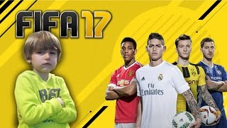 Video Game Family Fun FIFA 17 - EA Sports - FC Barcelona vs Real Madrid