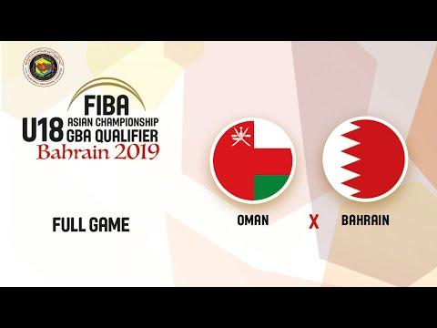 Oman V Bahrain - Full Game - FIBA Asia U18 GBA Qualifiers 2020