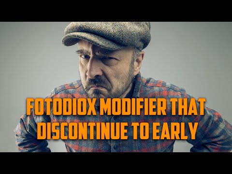 Fotodiox light modifier, that discontinue too early. Kicker Light Softbox review.