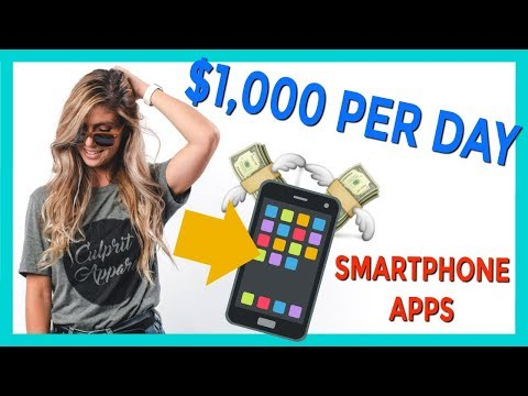 How to Make $1,000 PER DAY From Home with Smartphone App that Pay via Paypal