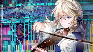Download lagu Touhou 9 - FLOWERING NIGHT | 114,000+ Notes! | Black MIDI