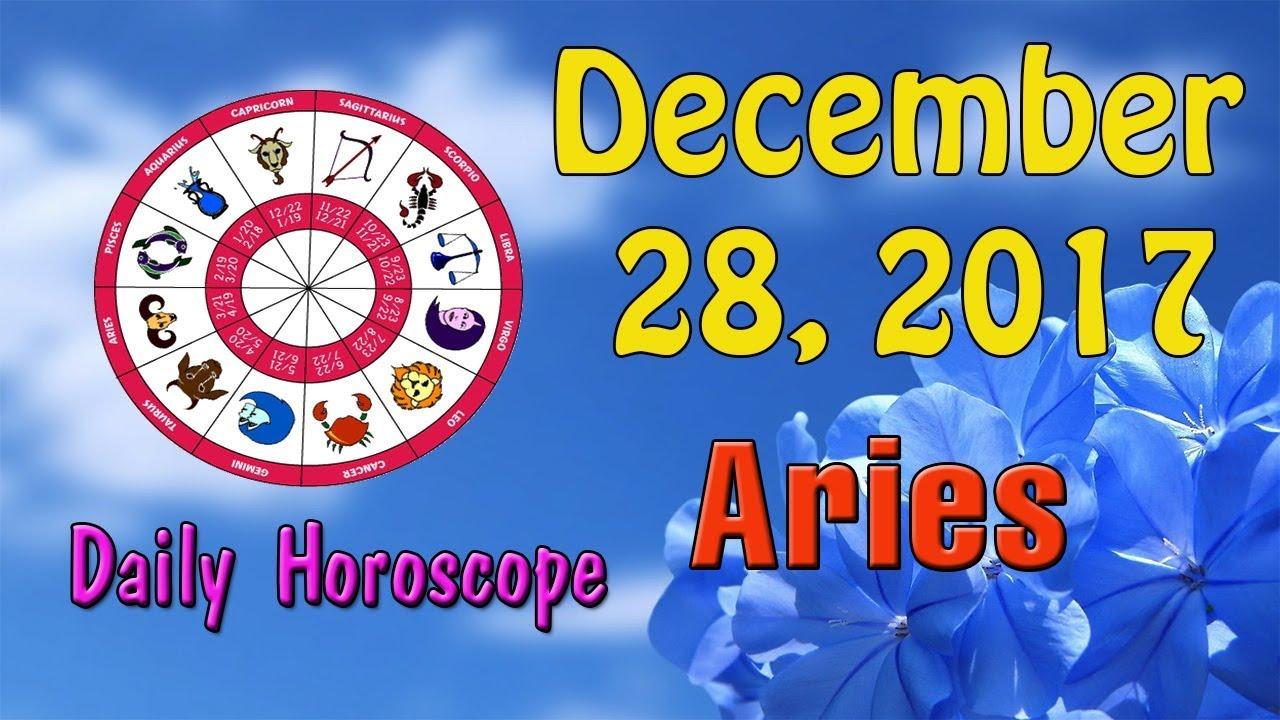 december 28 aries daily horoscope