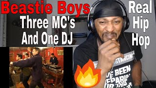 THIS IS REAL HIP HOP | Beastie Boys - Three MC's and One DJ (Official Music Video) REACTION