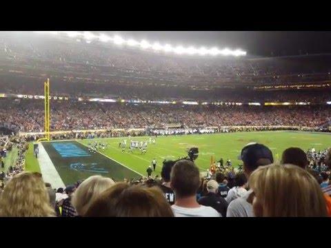 C.J. Anderson Touchdown During Super Bowl 50