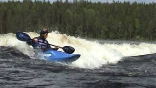 Игра. Родео в Лиексе (Game. Freestyle kayak in Lieksa)