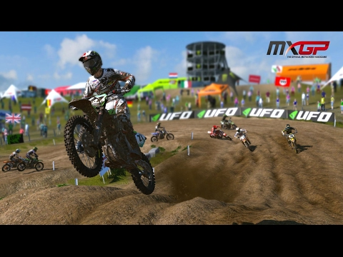 MXGP - The Official Motocross Videogame PS4 Gameplay