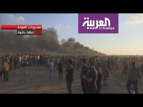 رصاص الاحتلال يصيب 1 من كل100  فلسطيني في مسيرات العودة  - نشر قبل 6 ساعة