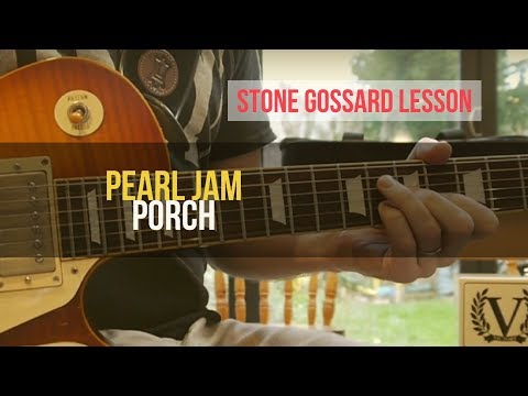 how to play pearl jam on guitar