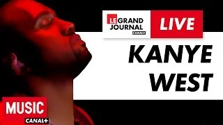 Repeat youtube video Kanye West - Black Skinhead - Live du Grand Journal