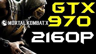 Mortal Kombat X | GTX 970 OC | DSR - 2160p Max Settings | FRAME-RATE TEST