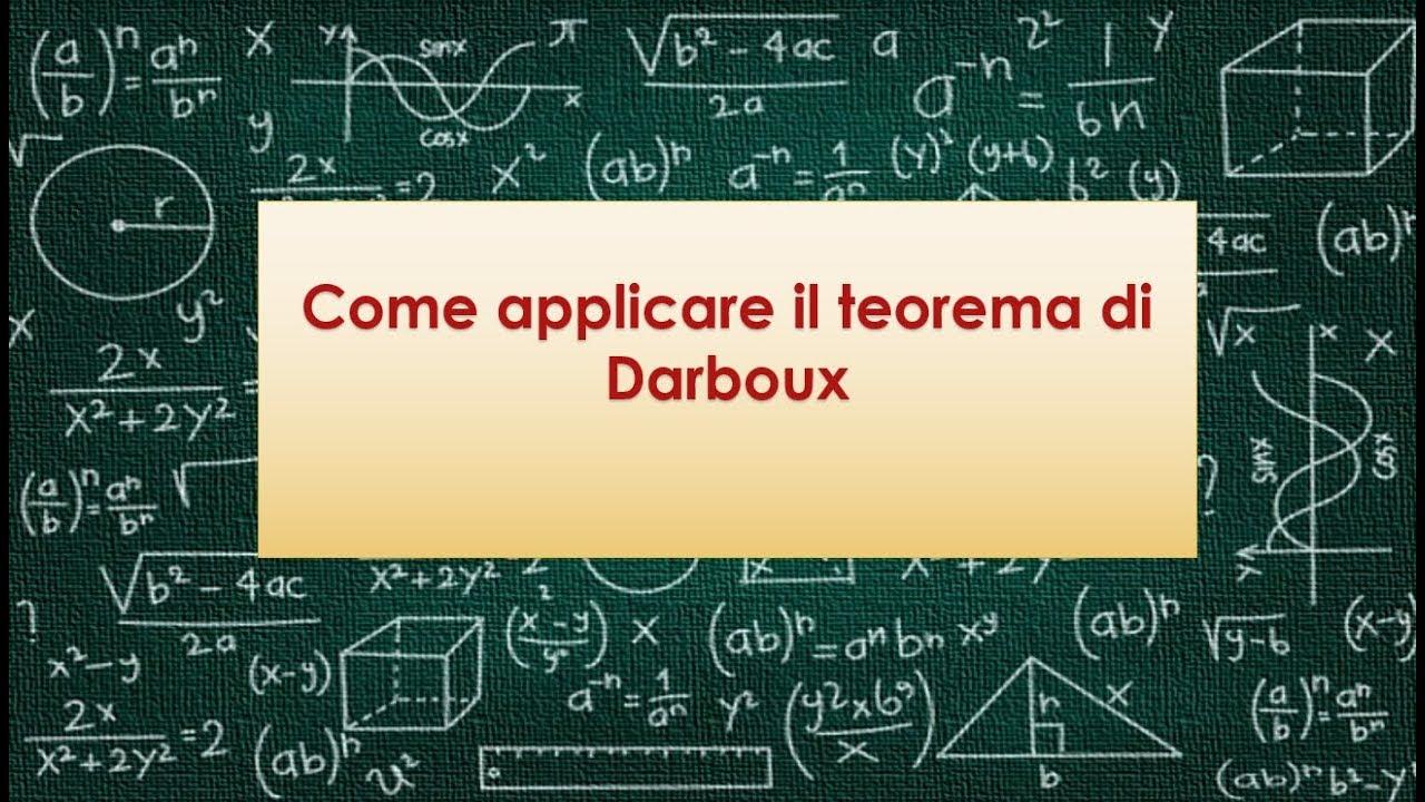 Teorema Dei Valori Intermedi.Come Applicare Il Teorema Di Darboux O Dei Valori Intermedi