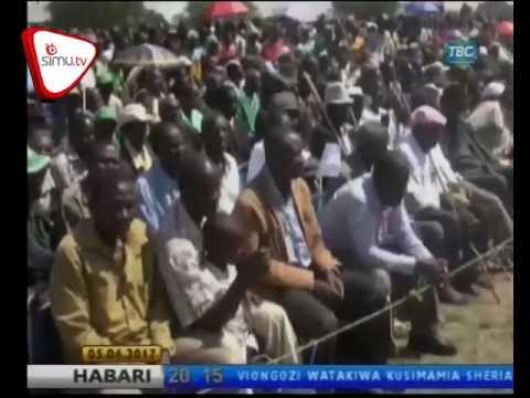 Wananchi Tarime Waaswa Kuunga Mkono Ujenzi Wa Uchumi Wa Viwanda