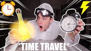 (Insane) Ordering TIME TRAVEL Potion from the Dark Web at 3AM (I went to the FUTURE)