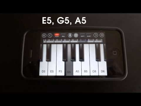 The Exorcist - Theme Song - iPhone/iPod Touch Piano Tutorial