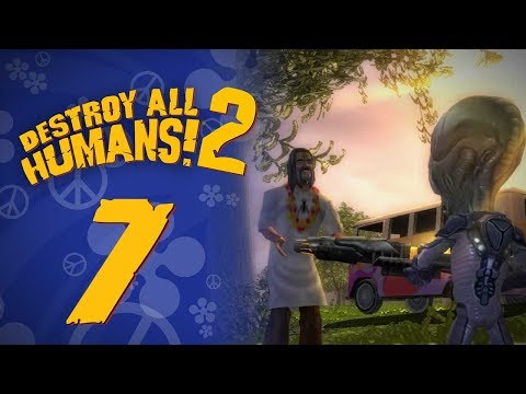 Let's Replay Destroy All Humans! 2 (PS4) - Episode 7 - Shama Llama Ding Dong