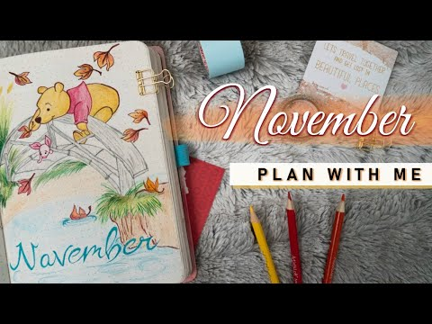 PLAN WITH ME | November 2019 Bullet Journal Setup 🍂