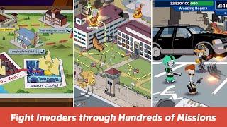 أبي الأمريكية! نهاية العالم قريبا (قبل My.com B. V.) - الروبوت / دائرة الرقابة الداخلية اللعبة