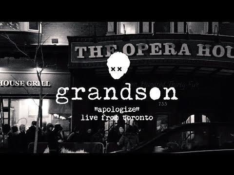 grandson: Apologize [OFFICIAL LIVE VIDEO]