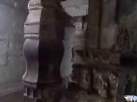 Inside view of Trikuteshwar temple, Gadag, Karnataka, India