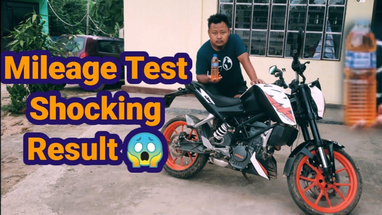 KTM Duke 200 Mileage Test / Naga Motovlogger