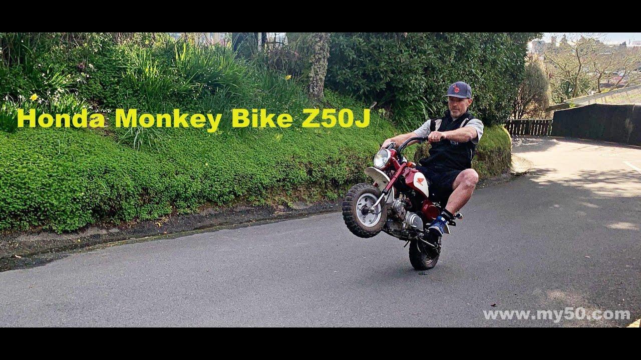 Download Trying to Wheelie the Honda Z50J Monkeybike