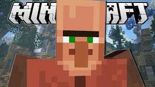 Minecraft | SUPER STRONG GIANT VILLAGERS!! | Evolution Minigame