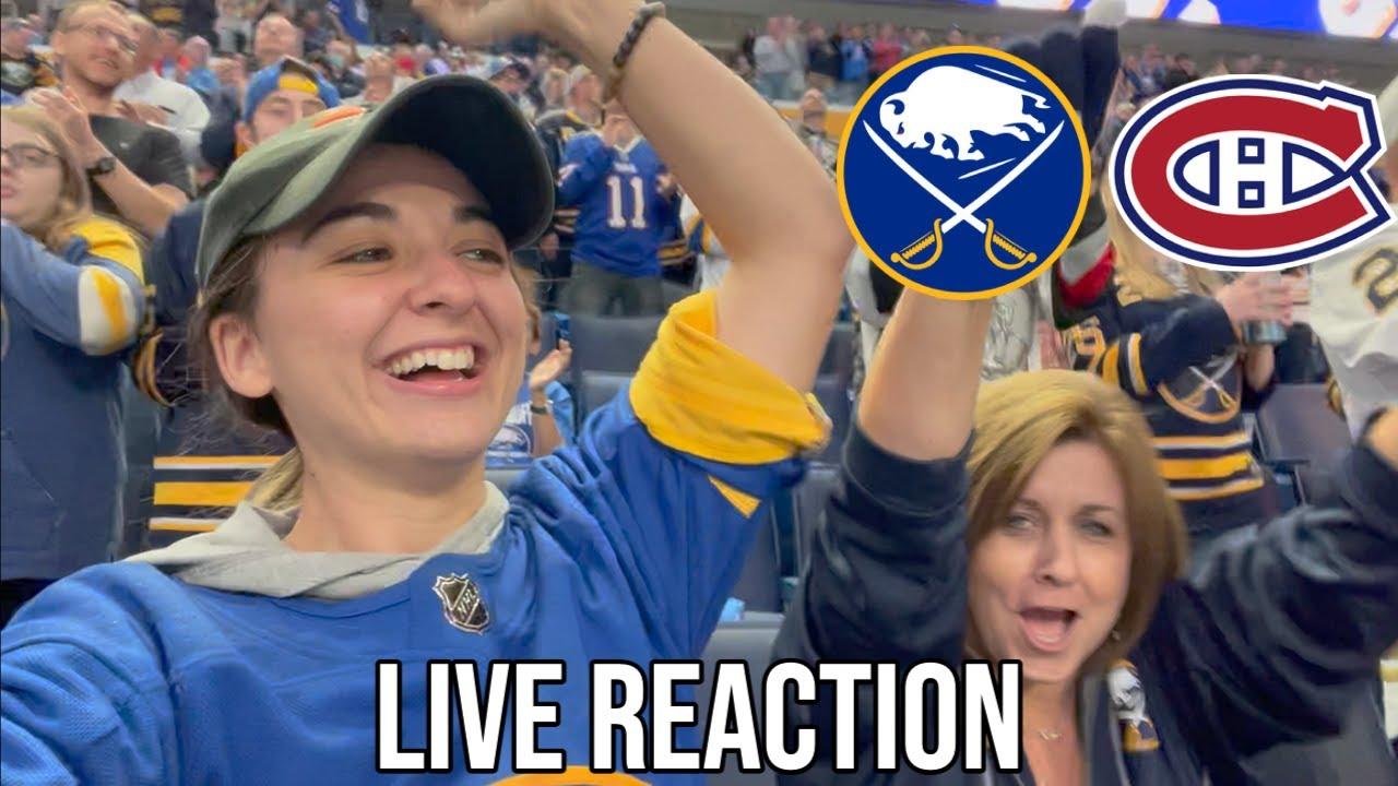 Download THE JACK EICHEL-LESS ERA BEGINS | Buffalo Sabres vs. Montreal Canadiens LIVE REACTION