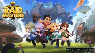 Raid Masters Online - BOSS RAID android game first look gameplay español 4k UHD