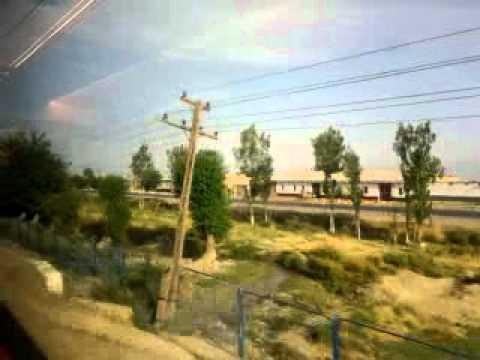 """Uzbekistan 2012 - from Samarkand to Tashkent by """"Talgo"""" train 5"""